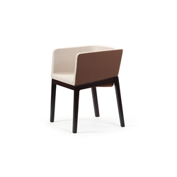 Tonic armchair wood | Chaises | Rossin