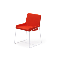 Tonic chair metal | Sedie conferenza | Rossin