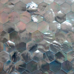 Shell Tile Panel No.3 | Perlmutt Fliesen | B-Matrix Group