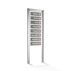 Loco Système de signalisation modulaire | Wayfinding | ALL+