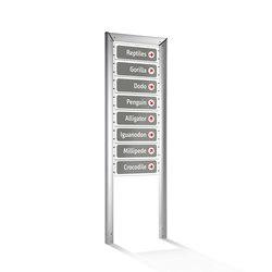 Loco Modular signage system | Wayfinding | ALL+
