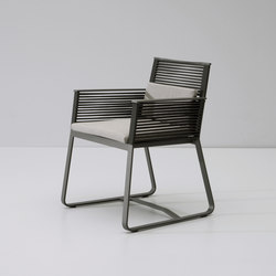 Landscape dining armchair | Garden chairs | KETTAL