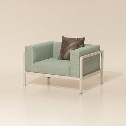 Landscape club armchair XL | Garden armchairs | KETTAL