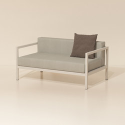 Landscape 2-seater L | Garden sofas | KETTAL