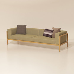 Landscape 3 Seater Sofa | Sofas | KETTAL