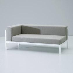 Landscape left corner module | Garden sofas | KETTAL