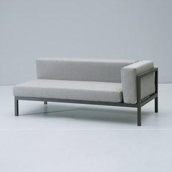 Landscape right corner module | Garden sofas | KETTAL
