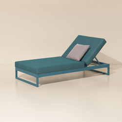 Landscape lounger with 5-position | Méridiennes de jardin | KETTAL