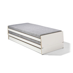Lönneberga MDF stacking bed | Single beds | Lampert