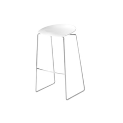 Flan stool | Barstools | Desalto