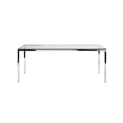 Helsinki rectangular table | Besprechungstische | Desalto