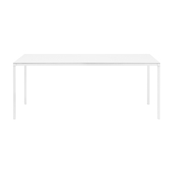 Helsinki rectangular table | Scrivanie individuali | Desalto