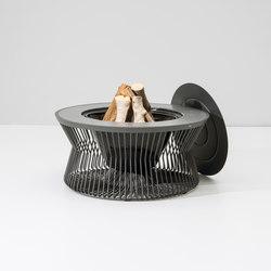Zigzag fire pit | Gartenfeuerstellen | KETTAL