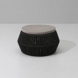 Zigzag pouf | Gartenhocker | KETTAL