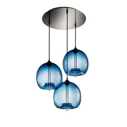 Circular - 3 Modern Chandelier | General lighting | Niche