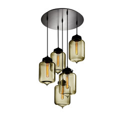 Circular - 5 Modern Chandelier | General lighting | Niche