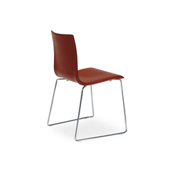 Wok sledge chair | Visitors chairs / Side chairs | Desalto