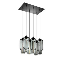 Pack - 6 Modern Chandelier | Suspended lights | Niche