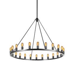 Spark 48 Modern Chandelier | Ceiling suspended chandeliers | Niche