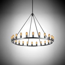Spark 48 | Ceiling suspended chandeliers | Niche Modern