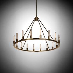 Spark 36 | Ceiling suspended chandeliers | Niche Modern