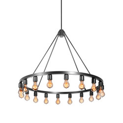 Spark 36 Modern Chandelier | Ceiling suspended chandeliers | Niche