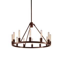 Spark 24 Modern Chandelier | Ceiling suspended chandeliers | Niche