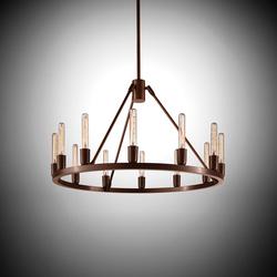 Spark 24 | Ceiling suspended chandeliers | Niche Modern