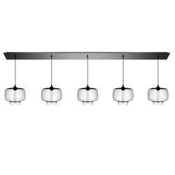 Linear - 5 Modern Chandelier | General lighting | Niche