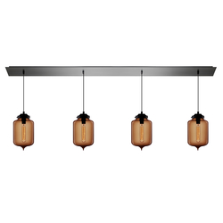 Linear - 4 Modern Chandelier | General lighting | Niche