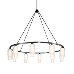 Sola 60 Modern Chandelier | Ceiling suspended chandeliers | Niche