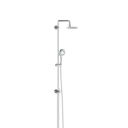 GROHE Shower Systems | Rainshower® Icon Shower system with diverter for wall mounting | Shower taps / mixers | GROHE