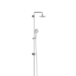GROHE Shower Systems | Rainshower® Solo Shower system with diverter for wall mounting | Shower taps / mixers | GROHE