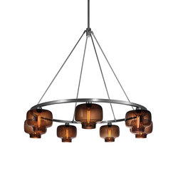 Sola 48 Modern Chandelier | Ceiling suspended chandeliers | Niche