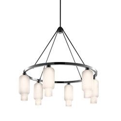 Sola 36 Modern Chandelier | Ceiling suspended chandeliers | Niche