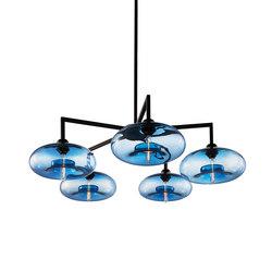 Quill 5 Modern Chandelier | Ceiling suspended chandeliers | Niche