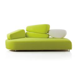 mosspink Sofa left | Lounge sofas | Brühl