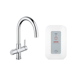 GROHE Red Duo faucet & single boiler | Kitchen taps | GROHE