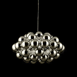Beads Octo Chrome Pendant | Suspended lights | Innermost