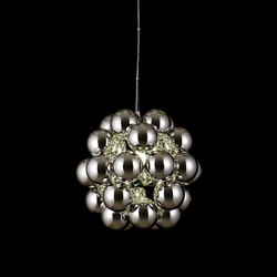 Beads Penta Chrome Pendant | Suspended lights | Innermost