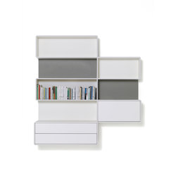 Alternata | Office shelving systems | De Padova