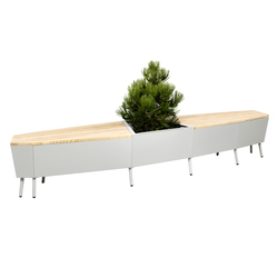 Elevation Bench | Bancs de jardin | FLORA