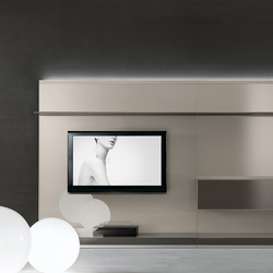 Abacus living | Wall storage systems | Rimadesio