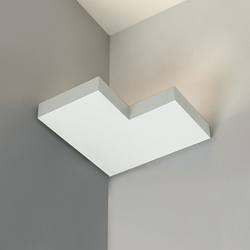 Onn-Corner Negative Indirect | Wall-mounted spotlights | Kreon