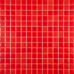 Chroma - Rojo | Mosaïques en verre | Hisbalit