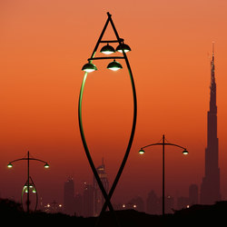 Festival City, Dubai | Street lights | ewo