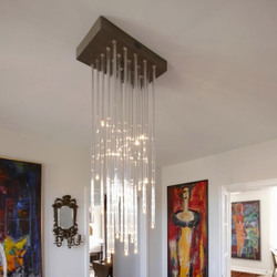 BENTE MERRILD chandelier | Ceiling suspended chandeliers | Okholm Lighting