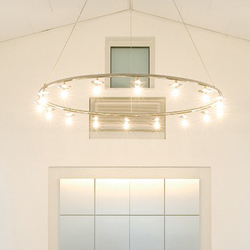 SCAN chandelier | Ceiling suspended chandeliers | Okholm Lighting