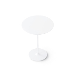 Dizzie | H 105 - Round base | Bar tables | Arper