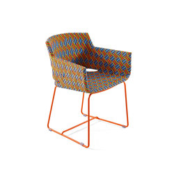 Kente outdoor armchair | Garden chairs | Varaschin